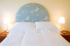 Lovely Sanderson Swallows Headboard --- custom made to your own design by Brian S Nolan's www. Swallows, Custom Made, Bed, Home, Design, Stream Bed, House, Ad Home, Homes