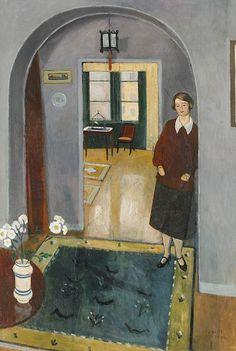 Einar Jolin - In the Doorway 1928