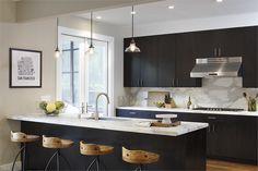 Sunny Transitional Kitchen by Tineke Triggs on HomePortfolio