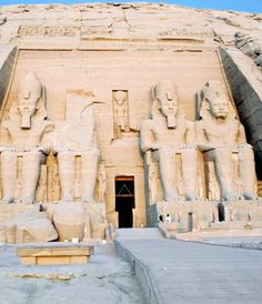 The Abu Simbel temples are considered to be the second most recognizable Egyptian icon after the Giza pyramids and the Sphinx. These are two massive rock-cut temples constructed during the reign of Ramesses the Great; one for himself and one for his wife, Queen Nefertari