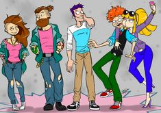 Just something for fun. Rugrats (c) nickelodeon, klasky-csupo Carpet Rodents Cartoon As Anime, Cartoon Kunst, Cartoon Fan, Cartoon Shows, Cartoon People, Cartoon Styles, Nickelodeon Cartoons, Disney Cartoons, Cartoon Crossovers