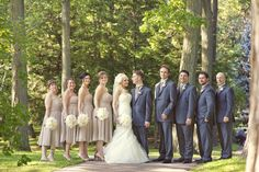 When it came to searching for the right venue, this stunning Toronto couple had two criteria - a dreamy forest setting and a whole lot of picture perfect water views. Luckily, The Toronto Hunt wa. Taupe Wedding, Fall Wedding Colors, Yellow Wedding, Wedding Groom, Wedding Suits, Wedding Attire, Trendy Wedding, Autumn Wedding, Dream Wedding