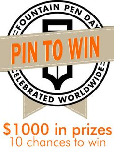 A chance to win it if you Pin it.