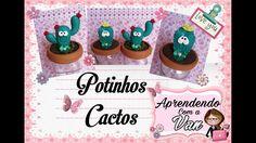 (DIY) Potinhos Cactos (Maratona de Potes #2)