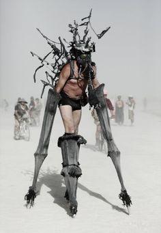 Burning Man 2009 by Hector Santizo, via Behance