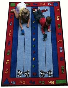 Race Car Kids Rugs And Clroom From Kid Carpet