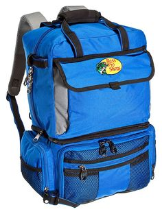 Bass Pro Shops® Extreme® Qualifier 360 Backpack or System   Bass Pro Shops // Backpack design for easier transport and organization of tackle #fishinggear #fishingtackle #bassfishing