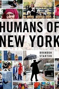 Humans of New York....Love, love, love the book, the pictures and the idea of it!  My favorite Christmas gift and my favorite FB post to read!