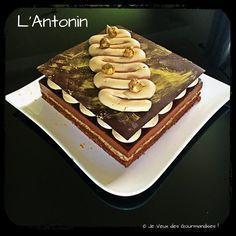 L'Antonin (Entremet Chocolat et Praliné)