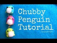 Chubby Penguin Tutorial.!(: [Polymer Clay] && [Kawaii]