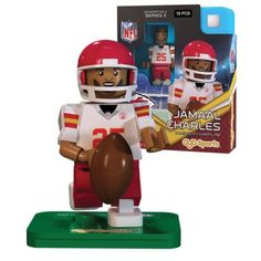 Jamaal Charles Kansas City Chiefs NFL minifigure Oyo Sports NIB Generation 3 KC