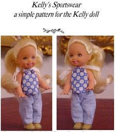 Free pattern for Kelly doll