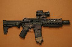 Short barreled defense rifle