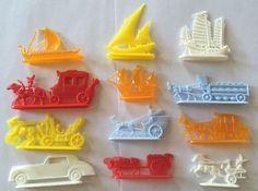 Vintage 1950s Nabisco Shredded Wheat Cereal Parade of Transportation Premiums | eBay