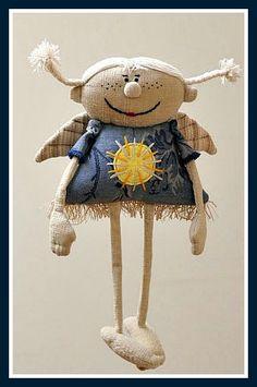 Выбирайте и шейте Handmade Toys, Handmade Art, Artisanats Denim, Angel Crafts, Fabric Toys, Little Doll, Sewing Toys, Felt Toys, Stuffed Animal Patterns