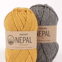 Drops Nepal Yarn Group C Threads. Raw Supplies for Knitting and Crochet. Every Day Yarn. Drops Nepal Yarn Group: C Content: Wool, Alpaca Yarn Group: C - 19 stitches) / 10 ply / aran / worsted Weight/yardage: oz g) = approx 82 yds m) Nepal, Drops Alpaca, Baby Alpaca, Alpaca Wool, Drops Design, Drops Lima, Laine Drops, Garnstudio Drops, Yarn Shop