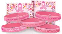 Click here to see our Breast Cancer Awareness Silicone Bracelets