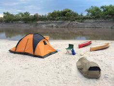 Canoe Camping in Río Gualeguay. Wynnchester Adventurer Bedroll.