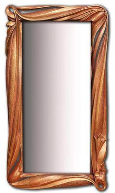 Stunning Mirror Frame Design Ideas From Wood Mirrored Picture Frames, Wood Picture Frames, Frames On Wall, Wood Framed Mirror, Diy Mirror, Wood Carving Art, Wood Art, Diy Resin Table, Intarsia Woodworking