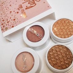 """Where the light is"" new set from Colourpop <3 <3 Love those neutral tones"