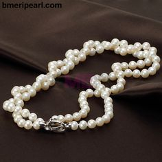 hammer and bend. If untreated, it will tarnish over time to a green patina. Cheap Pearl Necklace, Pearl Necklace Wedding, Pearl Choker Necklace, Cultured Pearl Necklace, Freshwater Pearl Necklaces, Cultured Pearls, Pearl Jewelry, Terracotta Jewellery, Necklace Online