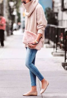 Maxi-Gola-Street-Style-jeans-Nude-Look
