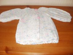 Baby Cardigan by ClementCrafts on Etsy Baby Cardigan, Trending Outfits, Sweaters, Etsy, Clothes, Vintage, Fashion, Outfits, Moda