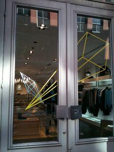 tape art @ adidas