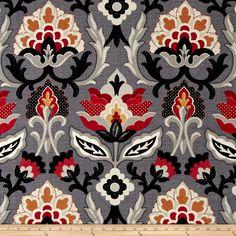 Waverly Isadora Licorice Fabric