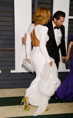 Biała Beyonce na balu po Oscarach!