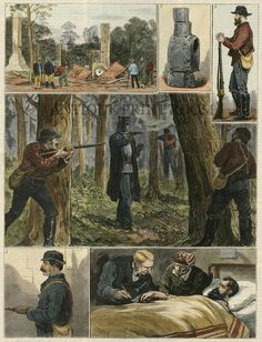Capture of the Kelly gang at Glenrowan, Victoria. Sarah Hanson Young, City Of Adelaide, Grim Reaper Tattoo, Ned Kelly, Bike Art, Old West, Back In The Day, American History, Melbourne