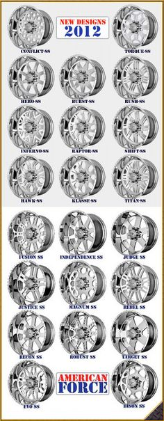 AMERICAN FORCE SUPER SINGLE WHEELS for DUALLY & NON DUALLY TRUCKS!  800-801-2986 -Dave