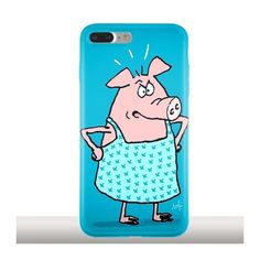 Mme Cochon, Coque iPhone 7 Plus antichocs, Artiste Sophie Rehout - Kinghousse.