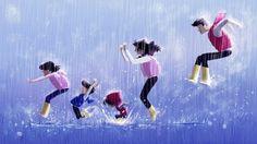 18 illustrations adorables qui résument à la perfection la relation entre un parent et son enfant...