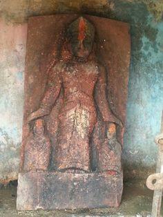 Near surya kunda, Parvati and her two sons ganesh and kartikeya