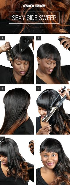 Hair How-to: The Sexy Side Sweep