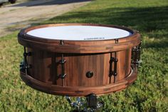 5-1-2-x-14-Walnut-Stave-Drum-with-Matching-Hoops