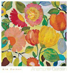 Anemone Garden Arte por Kim Parker en AllPosters.es