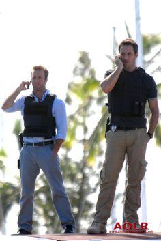 Danno and  Steve, Hawaii five-O