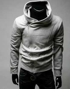 NEW Mens Slim Fit Sexy Top Designed Hoodies Jackets Coats h520 3Color 4Size. I LOVE THIS!