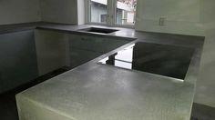 betong kjøkkenbenk - Google-søk