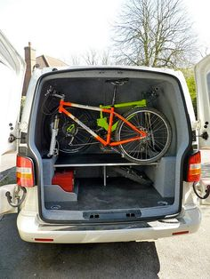 my T5 with bike related conversion - VW T4 Forum - VW T5 Forum