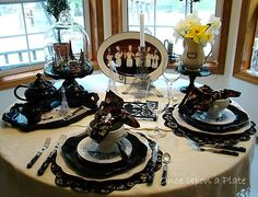 Once Upon a Plate: Tablescape Thursday ~ Thoughts of Paris