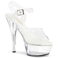These cute clear pf all vegan ankle strap sandals feature an ankle strap with a silver buckle, a inch heel and a vegan leather insole. Clear All Vegan Ankle Strap Sandal, Vegan High Heels, Clear High Heels Clear High Heels, Clear Shoes, Kid Shoes, Shoe Boots, Shoes Sandals, Sandals Platform, Platform Stilettos, Golf Shoes, Stiletto Heels
