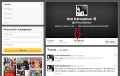Kim Kardashian Twitter Fans