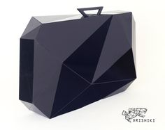 """Orishiki"" suitcase : Origami + Furoshiki, traditional wrapping cloth to transport goods and gifts - designed by Naoki Kawamoto"