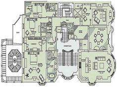 Mega Mansion House Plans million and up floor plans, floor plans the mansion at doral