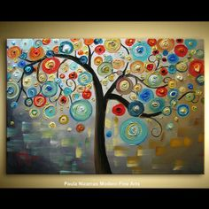 Love the idea of this painting, but with different color pallet