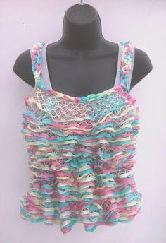 Starbella™ Yarn Tank Top by Sarah Tison #knit
