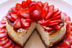 Cheesecake aux fraises #YummyFraise